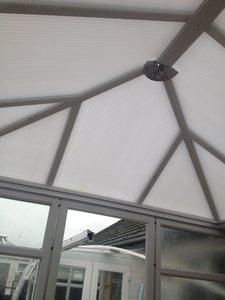 diy conservatory roof