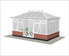 Capella Orangery Double Hipped Conservatory