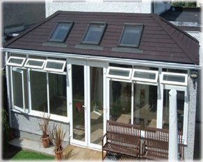 Edwardian Double Hipped Style Roof