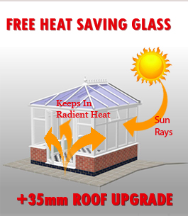 free heat saving glass