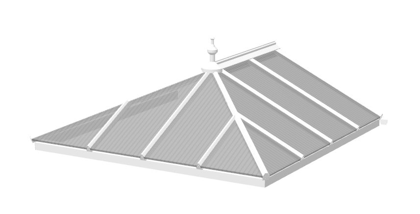 edwardian polycarbonate roof