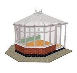 Victorian Double Hipped Conservatory