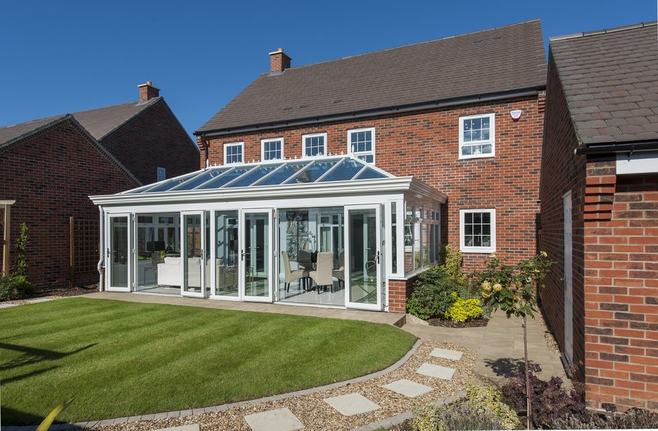 Global Summer Hipped Back Orangery