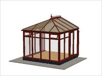 DIY Conservatories, Conservatory Design and Full Height 2954 X 2985 Rosewood (E2F)