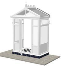 DIY Conservatories, Conservatory Design and Model 1FP Pavilion 1950mm wide x 1100mm