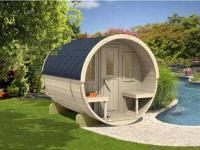 DIY Conservatories, Conservatory Design and Barrel Sauna 250
