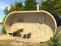 DIY Conservatories, Conservatory Design and Oval Sauna flat pack