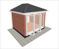 DIY Conservatories, Conservatory Design and Edwardian type 1 3350 x 3000mm