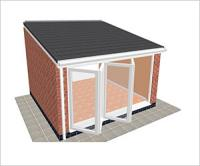 DIY Conservatories, Conservatory Design and Lean to type 3 4250 x 4000mm
