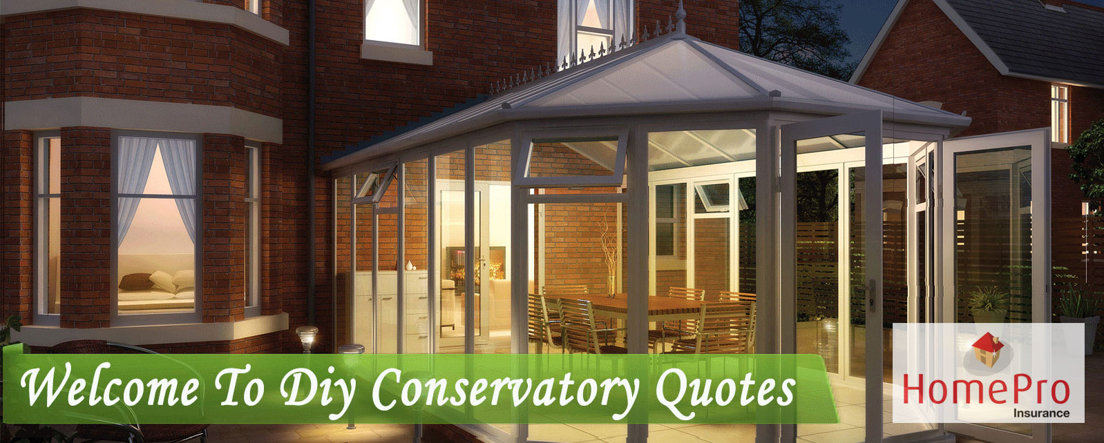 diy conservatory quote price