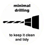 K2 Adventages 1 minimum drilling