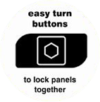 K2 Adventages 2 easy turn buttons