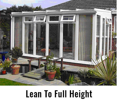 lean to full height metro