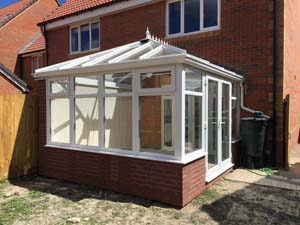 Edwardian diy conservatory with a durabase