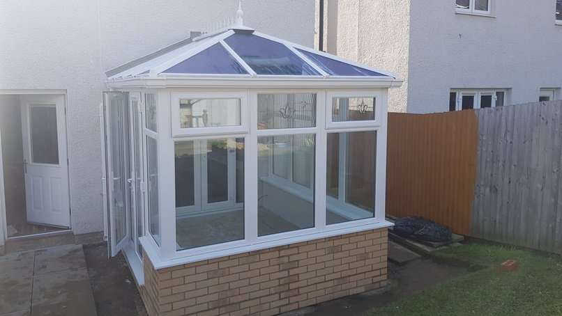 diy edwardian conservatory with durabase