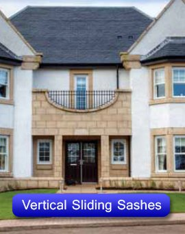 vertical sashes