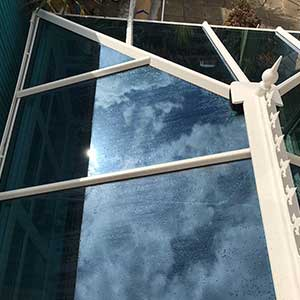 celsius glass roof