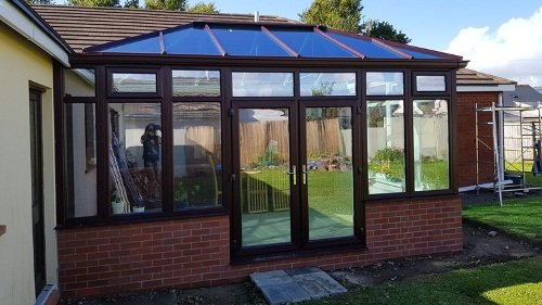 conservatory on to a bungalow