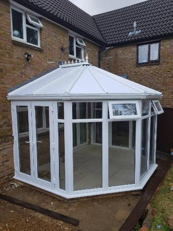 full height victorian conservatory