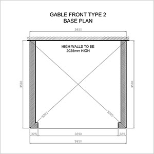 Gable type 2