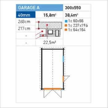 garage specification