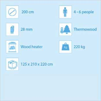hot tub plastic 200